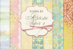 New Freebies Kit - Artistic Paper 2 (Far Far Hill)