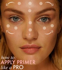 How To Apply Primer Like A Pro / Hooray for all day makeup!