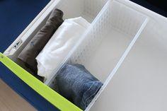 100円つっぱり棒で子ども服の収納を見直し♪ : 良品生活