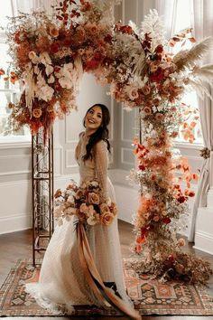 , , #DiyAbschnitt, Diy Abschnitt, Wedding Goals, Boho Wedding, Wedding Ceremony, Dream Wedding, Wedding Day, Floral Wedding, Wedding Planning, Ceremony Arch, Elegant Wedding
