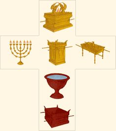 "Tabernacle        God Moves in a Mysterious Way  Go Search the Tomb      The Tabernacle        A Picture of ""Good things to Come""    A Picture is Worth a Thousand Words    The tabernacle was a sacred tent where God's presence dwelt among Israel as they journeyed through the desert from Egypt to their promised land. As a tent (unlike their future temple) it was portable and could be moved from spot to spot as Israel traveled.    The details and order of the tabernacle are recorded in the"