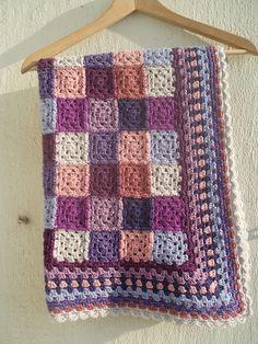 blanket - lovely colours