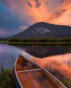 Vermilion Lakes (Banff,Alberta) by Nick Tweel (@nicktweel) on Instagram