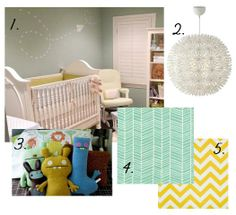 fabrics and paper airplane decal