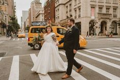 Downtown main street couples photo on crosswalk | Image by Aesthetic Sabotage