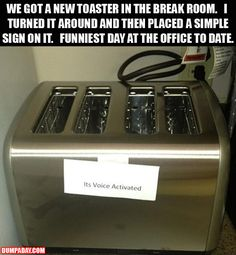 some people just wanna watch the world burn... lol but this is a hilarious idea!!