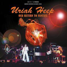 Uriah Heep 1975 Return to fantasy tour Vinyl Cover, Cover Art, Lps, Trevor Bolder, John Wetton, Rock Album Covers, Uriah, Vintage Rock, Van Halen