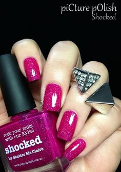 Fashion Polish: piCture pOlish new collaboration shades : Shocked, Ocean and Hope!