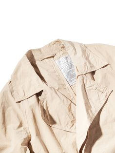 Unused Beige Shop Coat | Four Pins