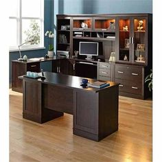 Office on Pinterest | Executive Office, Desks and Offices