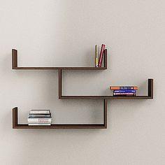 Tibet Wall Shelves Matt Wenge, 90€, now featured on Fab.