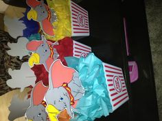 Dumbo centerpieces