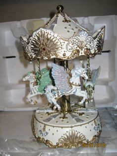 Music Box Horse Carousel (San Francisco area pick up only)
