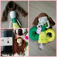 Making Sophia doll amigurumi Caleb Y Sophia, Knitting Patterns, Crochet Patterns, Amigurumi Doll, Crochet Dolls, Cool Diy, Free Crochet, Free Pattern, Jehovah's Witnesses