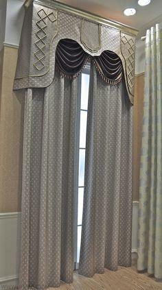 yeni-perde-modelleri | Curtain models | Pinterest