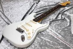 Fender Custom Shop Master Built Series Todd Krause Jeff Beck Stratocaster N.O.S. (Olympic White)