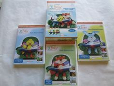 HOOKED ON PHONICS BABY 3-24 MONTHS 3 DVDS READ RHYME LANGUAGE MOTOR SKILLS #HOOKEDONPHONICS