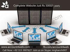 Account4WEB || Web Hosting in Pakistan.: Best Website Designing Company || Account4WEB