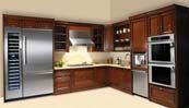 Ummm, yes please! The wine column next to the fridge. The double oven. I'll take it all!!