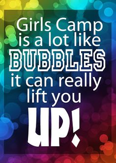 YW Ideas from 2 sisters --- {Sam & Sarah}: Girls camp pillow treats