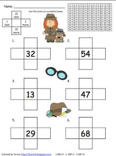 Classroom Freebies Too: Number Sense to 120