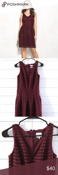 3f5bb93fb6d Dressbarn Ashley Graham Burgundy Sleeveless Dress Dressbarn Beyond Ashley  Graham Dress Womens Size 4 Burgundy V