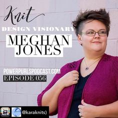 My interview on Power Purls Podcast with @karaknits is now live on ITunes! This episode is a ton of fun and covers knitting TNNA  and  covered in . !!! Repost from @karaknits) using @RepostRegramApp - Designers listen up! Meghan Jones @meghanjoneslnmp shows how to work the trade show floor! #PowerPURLSPodcast http://ift.tt/2kSps9Q.  #littlenutmegproductions #meghanjoneslnmp #makersofinstagram #knittingpattern #knittersofig #knittingaddict #knits #knitted #knit #knits #knitlove…