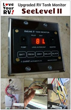Installing My New SeeLevel II RV tank monitor panel into our Keystone Cougar…