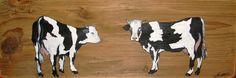 Nathalie RENZACCI - Country Painting : Cows Holstein - Prim'Holstein