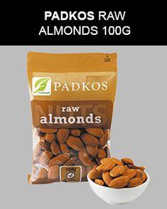Padkos Raw Almonds 100G.  #padkos #almonds