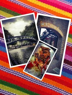 Grey summer's day in Camden for lunch... A little more Peruvian