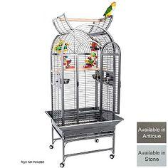 Ecuador Top Opening Parrot Cage - 2 Colours