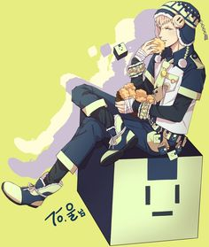 Noiz I like this guy cause he can eat a shit load of things and still walk out of his house house looking like he's ready to be a fucking H&M model