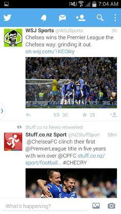 Chelsea wins