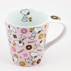 Snoopy Mug: Donuts