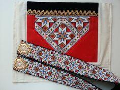 Made by Inger Johanne Wilde Folk Costume, Costumes, Color Shapes, Loom Patterns, Cute Designs, Weaving, Cross Stitch, Colours, Shoulder Bag