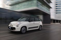 The Fiat 500L is only slightly longer than the average European car, yet can accommodate 6-footers comfortably
