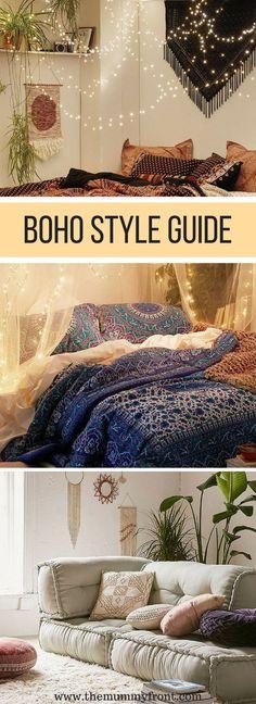 Bohemian Style Guide | Boho Home decor