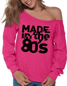 Vizor Unisex 80s Birthday Made in The 80s Hoodie Sweatshirt Cool 80s Disco 80s Party