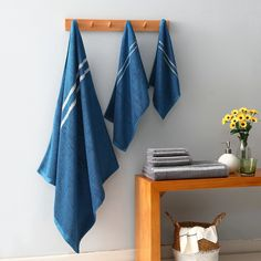 Towel Bath Square 3pc – Stylish Splash Cotton Towels, Washing Clothes, Bath Towels, Tile Floor, Flooring, Shower, Bathroom, Stylish, Rain Shower Heads