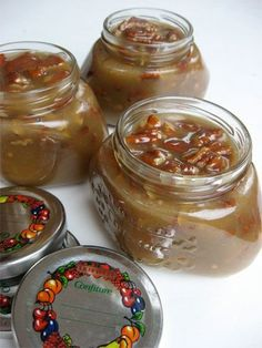 Praline Pecan Sauce...for ice cream.  Great gift in a jar.
