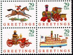 Quantity of 8x 1992 29c Christmas stamp valid for use on ALL US Mail. Unused MINT condition, post office fresh. 4 Different designs. 2 of each = 8 stamps Valid for postage all year long. Especially popular at Christmas time for gifts, postcards, cards etc. For the person who is difficult to shop for (or who already has everything) Postage stamps make a great gift. Everyone needs to mail something eventually ;-) The four contemporary stamp designs for Christmas 1992 feature antique toys. The desi Christmas Toys, Christmas Cards, Christmas Images, Stamp Making, Card Making, Antique Christmas, Vintage Stamps, Antique Toys, Vintage Toys