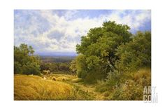 Harvest Time Giclee Print by John Clayton Adams at Art.com