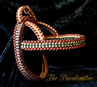 """#Paraknotter #Handmade #Paracord #Dogs #Adjustable and #Reflectable #Dogharness """"Toby"""""""