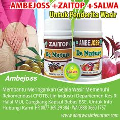 Obat benjolan wasir/obat ambeien With external development, bleeding does not occur. Nutella, Jelly, Herbalism, Drinks, Bottle, Desserts, Food, Moonlight, Herbal Medicine