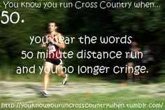 running cross country