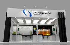 Criação, Planejamento e Produção do stand da DN Automação na Feira Autocom 2013. Precisa de um stand? entre em contato conosco!