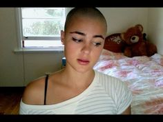 Why I shaved my head - Trichotillomania, Cancer  Alopecia - Stefania Ferrario -           				 				  www.facebook.com I just want to make things clear as to why I shaved my head. I first shaved my head in April and kept it bald for a little while and let it grow out before re-shaving it the other week. My aim to prove that bald is beautiful and bald can be sexy. I did a... - http://hairlosssolution.biz/2013/03/why-i-shaved-my-head-trichotillomania-cancer-alopecia-stefan    Stefania Ferrario