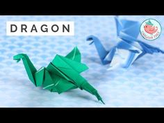 Learn how to fold an origami dragon that's easy but cool! Although it's not easy if you're an absolutely new beginner at origami, it's one of the easier drag. Gato Origami, Origami Mouse, Origami Yoda, Origami And Kirigami, Origami Dragon, Origami Tree, Origami Star Box, Origami Fish, Origami Stars