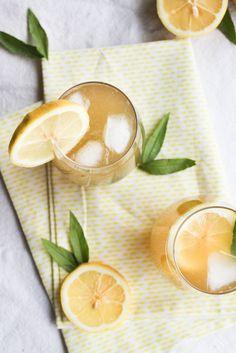 Citronnade à la verveine citron - aime & mange